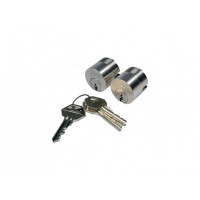 SCHROEFCILINDER DUBB.LIPS 8150          ROND-31MM+3SL.