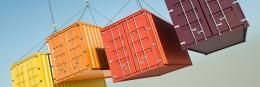 Container op het werk