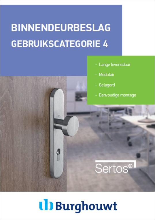 Hoppe Sertos® - Gebruikscategorie 4 beslag