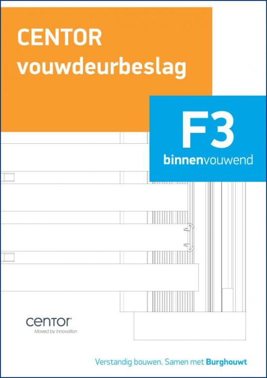 Centor F3 Binnenvouwend
