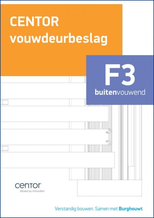 Centor F3 Buitenvouwend