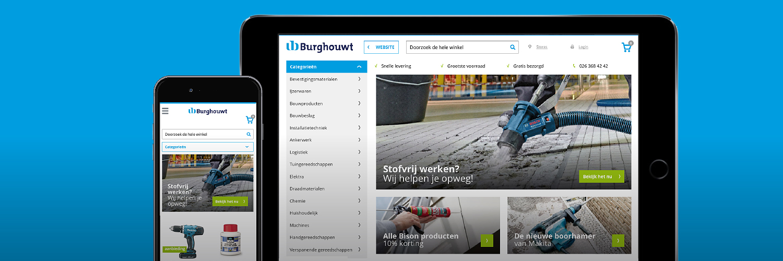 Nieuwe webshop binnenkort online