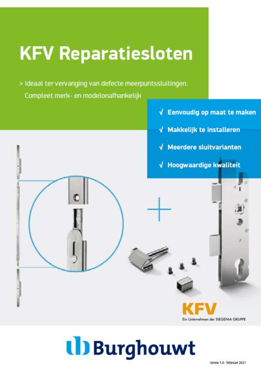 KFV Reparatiesloten